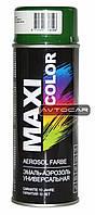 Акриловая краска Maxi Color ✔ цвет: зеленая-елка ✔ 400мл.