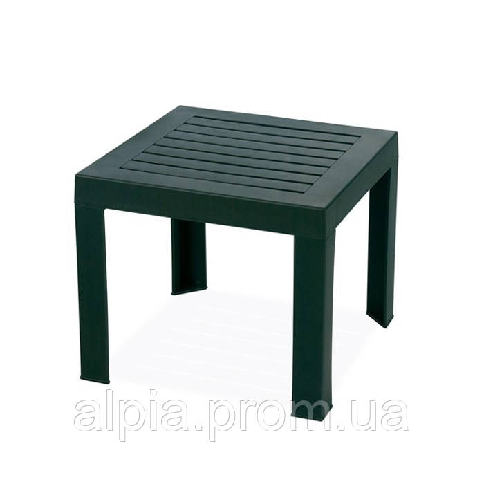 Столик для шезлонга Papatya Suda темно-зеленый