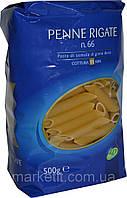 Макароны твердых сортов перья LD «Penne Rigate» n.66, 500 гр., фото 1