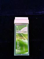 Воск для депиляции кассетный Italwax aloe vera 100мл