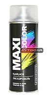 Акриловая краска Maxi Color ✔ цвет: прозрачный лак ✔ 400мл.