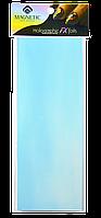 Голографическая фольга для дизайна ногтей. Blue. Синий.