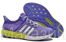 Женские кроссовки Adidas CC Gazelle Boost Purple Адидас Газель Буст фиолетовые, фото 3