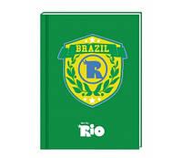 Блокнот А5, 80 л., картон с поролоном Rio RI00270-04 (RI00270-04 x 116379)