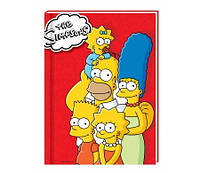Блокнот А5 80 л  картон с поролоном The Simpsons SI08271-03 (SI08271-03 x 116378)