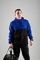 Черно-синий,мужской Анорак Nike .