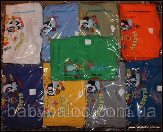 Трикотажная футболка для мальчика (от 1 до 3 лет), фото 2