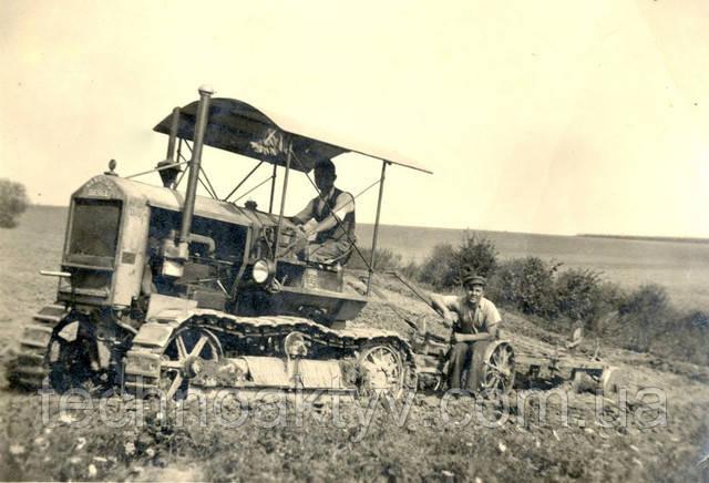 Первый гусеничный дизельный трактор Hanomag K 50