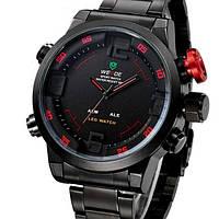Мужские часы Weide Черный с красным