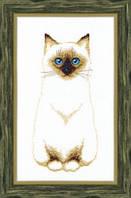 Набор для вышивания крестом Crystal Art Сиамский кот