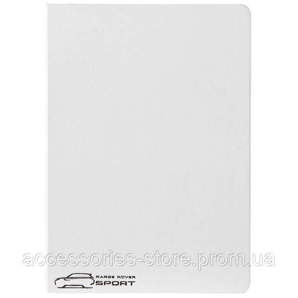 Блокнот - записная книжка Range Rover Sport Notebook Large White