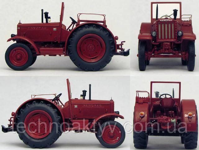 "1942 - ""Неубиваемый"" трактор-легенда Hanomag R 40"