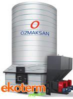Термомасляный промышленный котел с автоматической загрузкой твердого топлива ÖZMAKSAN ТИП ККУК