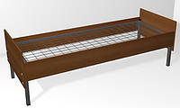 Кровать на металлокаркасе (сетка, боковины ДСП)