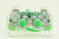 Джойстик PC проводной USB c подсветкой K800 зеленый
