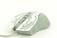 Мышка компьютерная проводная XG68 белая