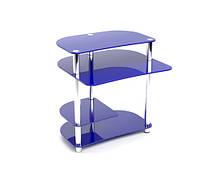 Стеклянный компьютерный стол  Р 3