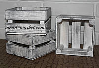 Ящик из дерева прованс