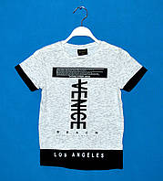 Детские футболки для мальчиков 140-176 см, Детские футболки оптом дешево