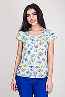 Легкая блузка  арт 34-121
