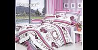 Постельное белье  «Валентинка» Premium Колорит - бязь ТЕП