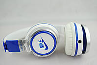 Наушники проводные NK198 NIKE (в коробке)белый\синий