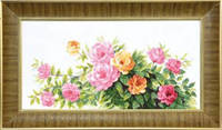 Набор для вышивания крестом Crystal Art Благоухание летних роз