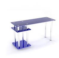 Стеклянный компьютерный стол  Р 5