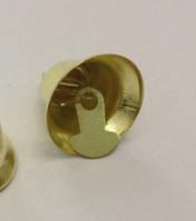 Колокольчик 35 мм под золото