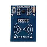 RFID ридер RFID-RC522 для Arduino + брелок и карта, фото 2