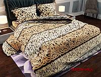 """Ткань для постельного белья Бязь """"Gold"""" Lux GL23727brown (50м)"""