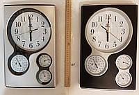 Часы с барометром,температурой и влажностью