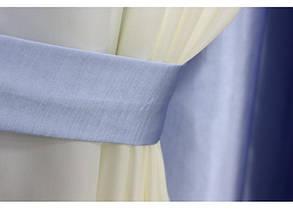 Шторы портьерные Шанзелизе Комби №11 (2 шторы), фото 2