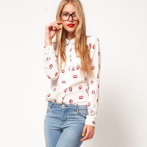 Женская блузка Crystal (2 цвета) СС6608