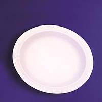 Тарелка Тарелка-вспененный полистирол  белая 100 шт 0111 (0111083(d-17см десертная) x 48376)