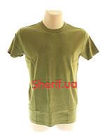 Футболка армейская летняя  хаки MIL-TEC T-Shirt OD 11013001