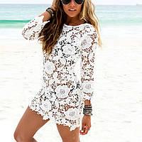 Пляжное платье ажурное оптом AL7017
