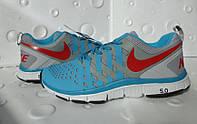 Кроссовки мужские Nike FREE TRAINER 5.0 ( кожа + сетка ) , лето