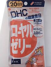 Маточное молоко для иммунитета и энергии. Курс 60 капсул на 20 дней. DHC, Япония