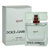 Туалетна вода Dolce & Gabbana The One Sport for Men EDT 100 ml