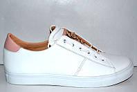 Слипоны PHILIPP PLEIN кожаные белые Uk0205