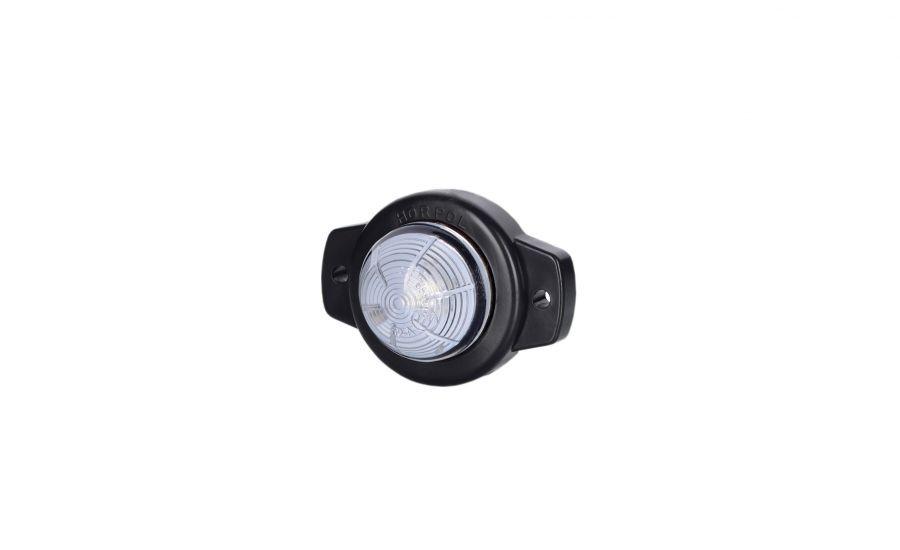 Габаритно - контурный фонарь HOR 51, белый, с диодом LED на винтах, 0,5 м кабель, 12/24 V