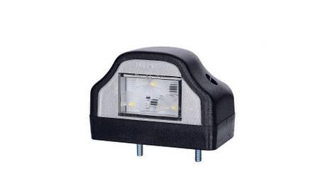Светодиодный  фонарь подсветки заднего номера, 12/24V, 0,5 м кабель , фото 2