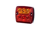 LZD 967 Задний комбинированный фонарь HOR 74 LED короткий