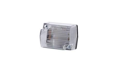 Габаритный, прямоугольный фонарь белый, маленький  , фото 2