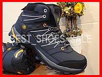 Ботинки кроссовки зимние женские подростковые WАTERPROOF RESTIME 36-41