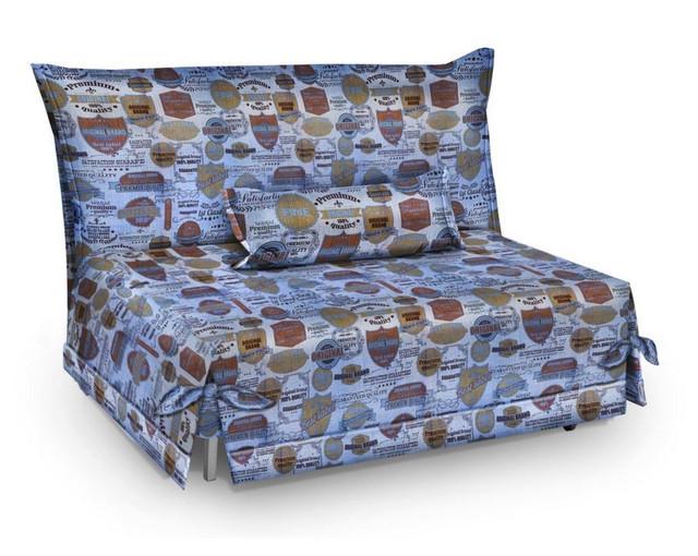 Диван-кровать СМС ткань Катони Джинс