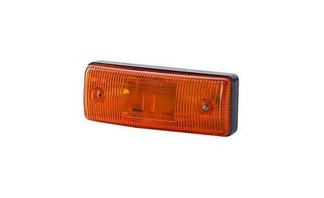 Габаритный, плоский фонарь II, оранжевый, фото 2