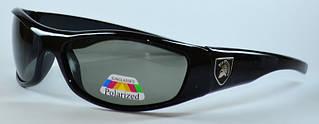 Поляризованные прямоугольные мужские солнцезащитные очки