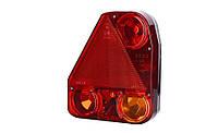 Треугольный задний комбинированный фонарь HOR 56, левый с противотуманным светом